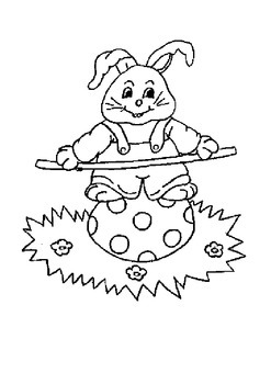 Easter Coloring Book 78 pages