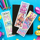 Easter Coloring Bookmarks – Set of 12 Printable Bookmarks to color for Easter