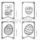 (3 Day Freebie) Easter Coloring Classroom Banner