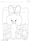 Easter Coloring Page- SPANISH