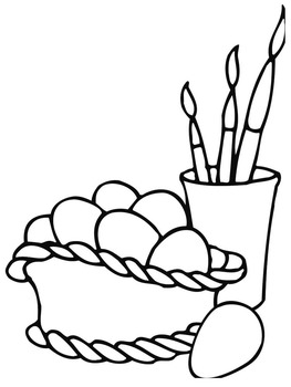 Easter Coloring Pages - 25 Pages!