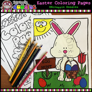 Easter Doodle Pages Teaching Resources