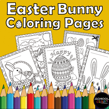 Free Easter Coloring Pages | Easter coloring pages, Free easter ... | 350x350