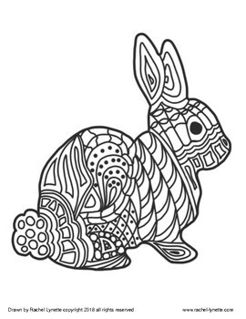 Easter Coloring Pages - FREE