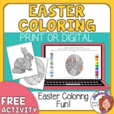 Easter Coloring Pages - FREE Digital or Print