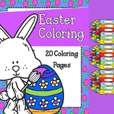 Easter Coloring Pages / Non-Religious
