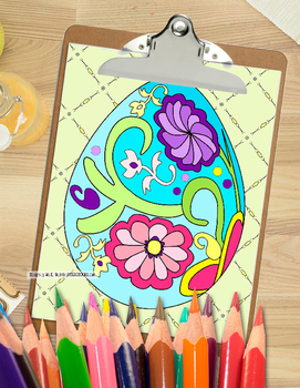 Easter Coloring Pages Relax and Unwind with Fun Easter Bunnies and Eggs