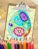 Easter Coloring Pages Relax and Unwind with Fun Easter Bun