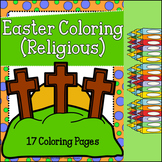Easter Coloring Pages  (Religious)