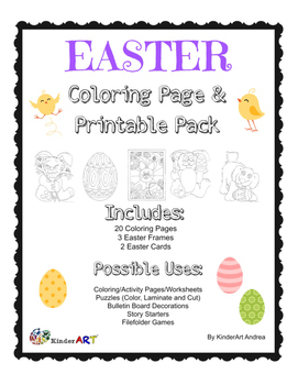 Easter Coloring Pages and Printables