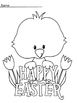 Easter Coloring Sheets