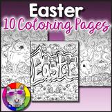 Easter Coloring Pages, Zen Doodles