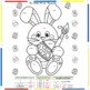 Easter Coloring in Spanish / Past form of -AR, -ER, -IR verbs and verb IR