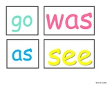 Easter Colors - Sight Words - FREE Printable- EASTER PRINTABLES