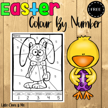 Easter Colour By Number