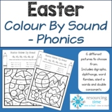 Easter Colour By Sound (Aus Spelling)