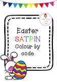 Easter Colour by Letter (SATPIN)
