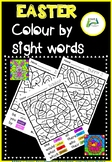 Easter Colour by Sight Words