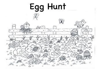 Easter Colouring Egg Hunt Mini Bundle