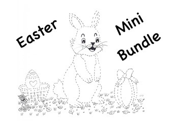 Easter Colouring Egg Hunt Mini Bundle