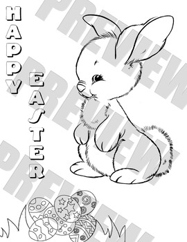 Easter Colouring Sheet