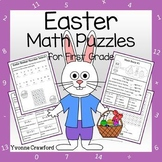 Easter Math Puzzles - 1st Grade Common Core
