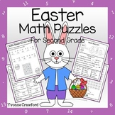 Easter Math Puzzles - 2nd Grade Common Core