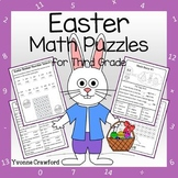 Easter Math Puzzles - 3rd Grade Common Core