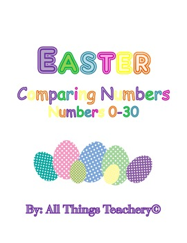 Easter Comparing Numbers 0-30