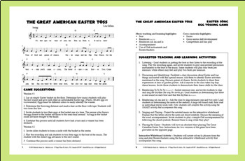 """Easter Singing Game 