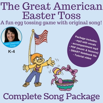 "Easter | ""The Great American Easter Toss"" by Lisa Gillam 