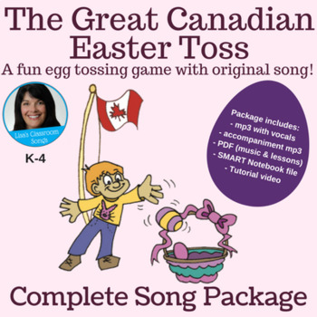 "Easter Singing Game | ""The Great Canadian Easter Toss"" 