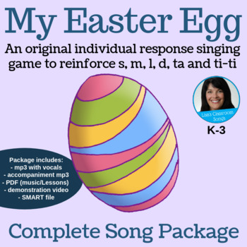 "Easter Call/Response Song | ""My Easter Egg"" by Lisa Gillam 
