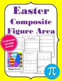 Easter Composite Area Cooperative Learning Activity