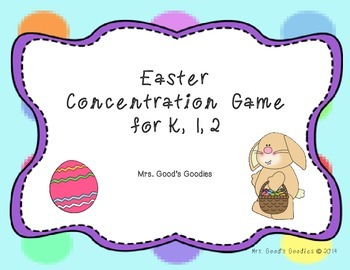 Easter Concentration Game