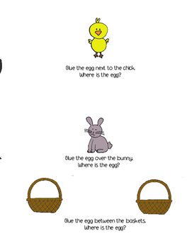 Easter Concepts Cut and Paste Activity