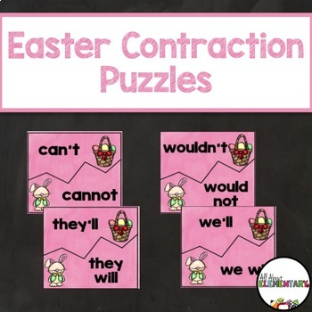 Easter Contraction Puzzles