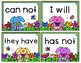 Easter Contractions Game - 30 Sets of Matching Cards / Game Board / Answer Key
