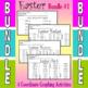 Easter - 4 Coordinate Graphing Activities - Bundle #1