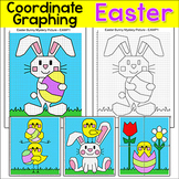 Easter Math Coordinate Graphing Pictures Ordered Pairs - E