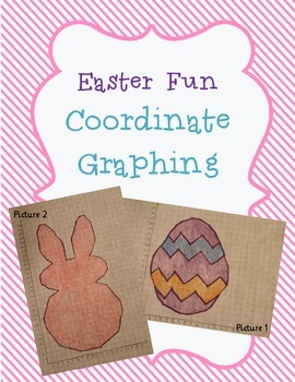 Easter Coordinate Graphing Ordered Pairs