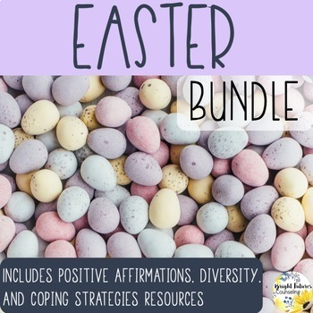 Easter Counseling Activities Bundle