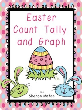 Easter Count, Tally, Graph Graphing Activity