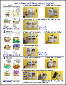 Easter - Count, Trace, & Color Book (1-10)