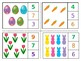 Easter Count and Clip Numbers 1-20