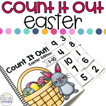 Easter Count It Out Adapted Book