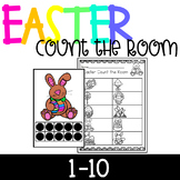 Easter Count the Room 1-10