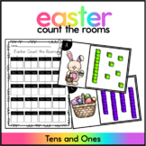 Easter Count the Room - April Count the Room (Tens & Ones)