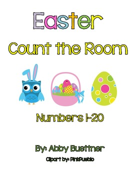 Easter Count the Room Math Center
