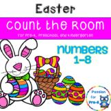 Easter Count the Room - Pre-K, Preschool, and Kindergarten